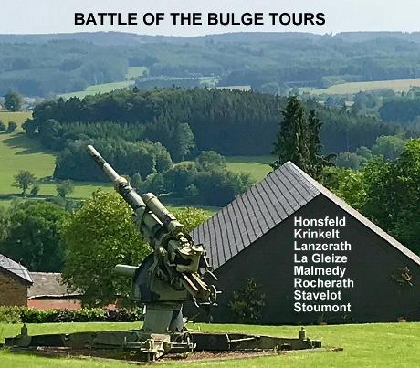 Battle Of The Bulge Tours, Ardennes WW2 Tours, World War 2 Tours, Belgium, Ardennes Vacations, Things to Do Ardennes, Stavelot, Stoumont, La Gleize, Battle Tours Ardennes, Belgium Private Guided WW2 Tours, Trois Ponts, Lanzerath, Honsfeld, Butgenbach, Bullingen, Joachim Peiper Tours, Losheim, Wahlerscheid Crossroads, Krinkelt, Rocherath, Hotton, Dinant, Celles, Longchamps, Bastogne, Foy, Houfallize, Parkers Crossroads, Malempre, St Vith, Vielsalm, WW2 Tours Luxembourg, Francorchamps, Kampfgruppe Peiper, Max Hansen, Cheneaux, Malmedy Massacre, Baugnez, Ambleve River, River Meuse, Wereth, Wirtzfeld, Hunningen, Murringen, Bucholz, Lyle Bouck, Losheimergraben, Westwall, Siegfried Line, Dragons Teeth, Henri Chapelle, Ardennes American Cemetery, Margraten, Foxholes, Schumans Eck, Wiltz, 75th Infantry Division, 740th Tank Battalion, Easy Company, 82nd Airborne, 3rd Armored Division, La Roche, Remouchamps, Pattons Third Army, Manteuffel, McCauliffe, Mardasson Memorial, Bastogne Barracks, Band Of Brothers, Battle Tours Belgium,