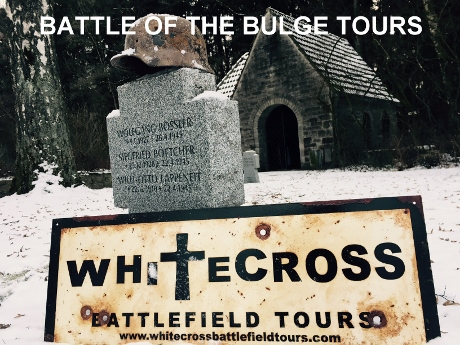 Battle Of The Bulge Tours, Battle Tours Ardennes, WW2 Tours Belgium, World War 2 Guided Tours Europe, Ardennes War Tours, Ardennes Offensive Tours, Krinkelt, Rocherath, Elsenborn Ridge, Lanzerath, Losheim, Blankenheim, Tondorf, Losheimergraben, Bucholz, Lyle Bouck, Udenbreth, Westwall, Dragons Teeth, Hollerath, Kampfgruppe Peiper, Rollbahn C, Honsfeld, Butgenbach, Bullingen, Malmedy, Ligneuville, Baugnez, Malmedy Massacre, Waffen S.S Ardennes, Trois Ponts, Ambleve, Stavelot, Stoumont, Peiper Tour, La Gleize, Wereth Massacre, Francorchamps, Spa, Grandmenil, Hotton, Manhay, Trou de Loop,, Ardennes Accomodation, Things To Do Ardennes, Ardennen Tours, 88mm Gun Ardennes, King Tiger Tank, Targnon, St Edouard Sanitorium, 82nd Airborne, 740th Tank Battalion, Bastogne, Foy, Schumans Eck, Wiltz, 101st Airborne, 75th Infantry, 99th Infantry Division, Hasselpath Memorial, Wirtzfeld, Hunningen, Murringen, Parkers Crossroads, Erezee, Sadzot, Vielsalm, St Vith, Foxholes, Heartbreak Crossroads, Recht, Poteau, Max Hansen, Salm River, Ourthe River, La Roche, Sherman Tank, 551st Highland Division, American WW2 Veteran Tours, Durbuy, Hotton Military Cemetery, Malempre, Ernst Barkmann, 1SS Panzer, La Venne, Peipers Escape Route Tour, Cheneaux