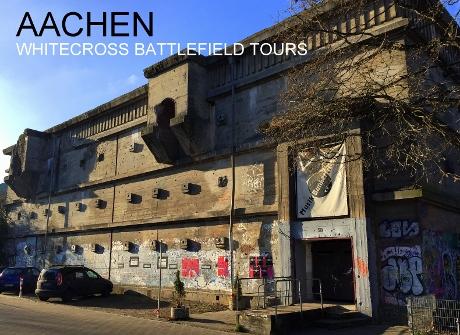 Aachen Tours, Aachen WW2 Tours, Aachen War Tours, Aachen Battle Tours, 29th Infantry Tours Aachen, Big Red One Aachen, Westwall Tours, Seigfried line Tours, Aachen Defences, Aachen Battlefield tours, Aachen Vacations, Dragon's Teeth Aache, Bunkers Aachen, Merode, Haaren, Verlautenheide, Crucifix Hill, Lousberg, Gerhard Wilck, Quellenhof Hotel, WW2 Tours, World War 2 Tours, Third Reich Tours, 3rd Reich Tours,
