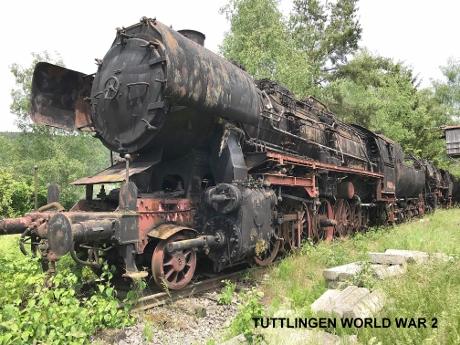 Tuttlingen Tours, Tuttlingen WW2 Tours, WW2 German Steam Locomotives, German Steam Trains, World War 2 Tours in Germany
