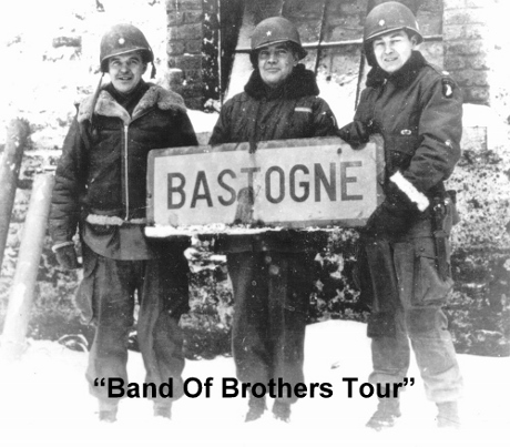 Band of Brothers Tours, Bastogne Tours, Bastogne WW2 Tours, Easy Company Tours