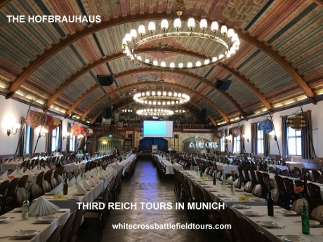 Third Reich Tours, Munich Tours, 3rd Reich Tours Munich, Dachau, Sophie Scholl, White Rose, Hans Scholl, Beer Hall Putsch, WW2 Tours Munich, WW2 Tours Germany, Nuremberg, Hitler, Tegernsee, Konigsplatz, Wittelsbach Palace, Hofbraukellar, Lowenbrau Kellar, Burgerbrauhaus, Georg Elser, Feldhernhalle, Stadelheim Prison, NSDAP, Ernst Rohm