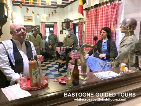 Bastogne Guided Tours, 101st Airborne, WW2 Tours, Battle Of The Bulge Tours, Bastogne Barracks, Ardennes Battlefield Tours, Battle Tours Belgium, Foy, Mardasson, McAuliffe, Renee Lemaire, 10th Armored Division, Task Force O Hara