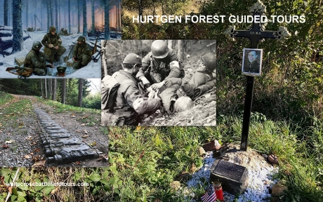 Hurtgen Forest Tours, Hurtgenwald WW2 Guided Tours, Guided Battlefield Tours Germany, 3rd Reich Tours, WW2 Tours Belgium, Vossenack, Scmidt, Germeter, Simonskall, Bergstein, Hill 400, Paustenbach, 28th Infantry Division, 4th Infantry Division, Kesternich, Grosshau, Kleinhau, Merode, 78th Infantry Division, 121st Infantry, Hurtgen, Simmerath, Lammersdorf, Raffelsbrand, Gey, Strass, 330th Infantry, Aachen, Siegfried Line Guided Tours, Kall Trail Guided Tours