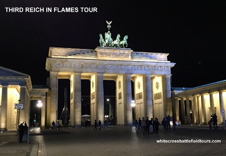 Third Reich Guided Tours, Brandenburg Gate, Berlin WW2 Tours, WW2 Battlefield Tours, 3rd Reich, Hitlers Bunker,
