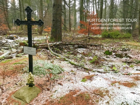 Hurtgen Forest Guided Tours, WW2 Battlefield Tours, Heartbreak Crossroads, 99th Infantry Division, 2nd Infantry Division, Hurtgenwald Bunkers