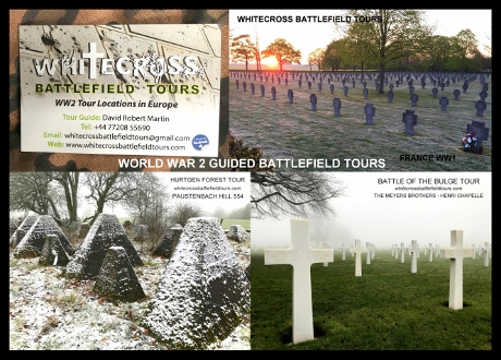 WW2 Guided Tours, Siegfried Line Tours, Battle Of The Bulge Tours, D-Day Tours, 3rd Reich Tours, Hurtgen Forest Tours, Battlefield Tours Ardennes, Luxembourg Tours