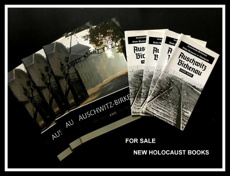 new holocaust books, auschwitz books, auschwitz tours
