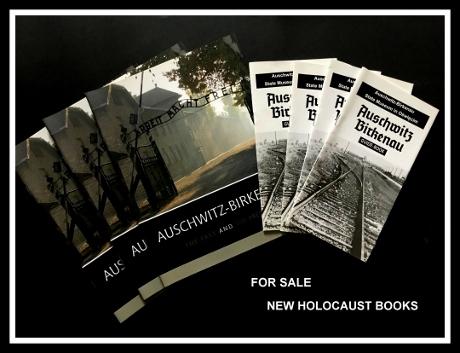 new holocaust books, auschwitz books, auschwitz tours