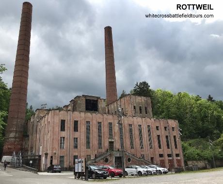 pulverfabrik tour, ww2 tours rottweil, tuttlingen ww2 tours, rottweil history tour, baden wurttemberg tours